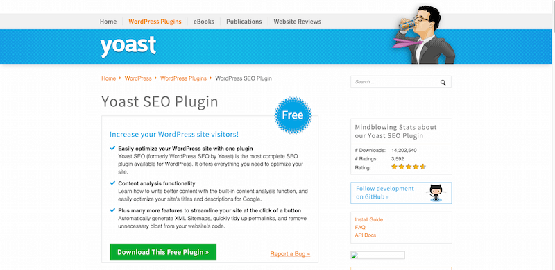 WordPress SEO Plugin • XML Sitemaps   more  • Yoast