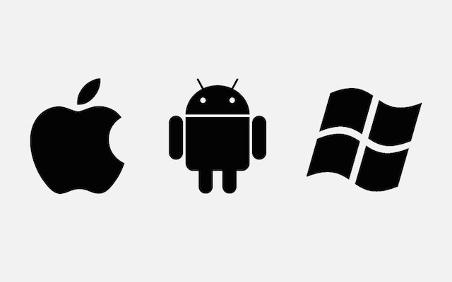 android apple windows