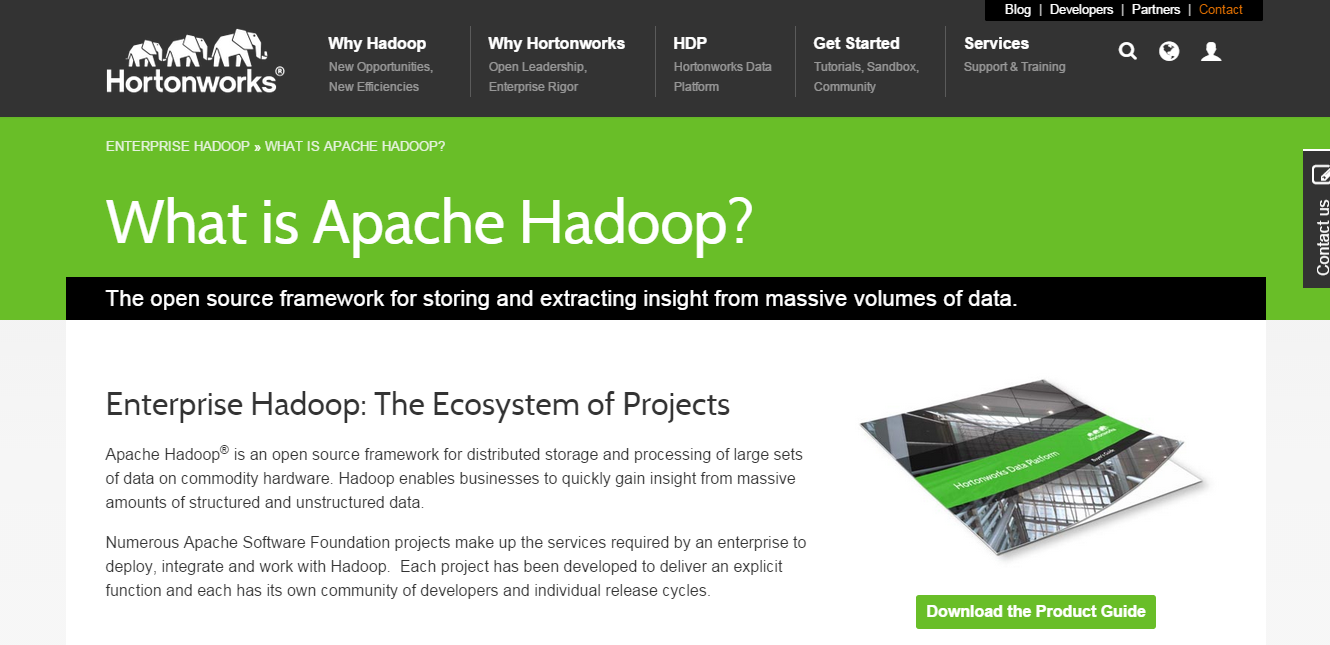 15 best ways to learn hadoop technology hortonworks offers excellent tutorials on hadoop apart from providing tutorials it also provides certification on hadoop baditri Gallery