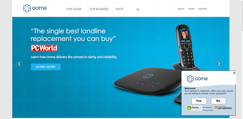 -1 Ranked Free Internet Phone Service   Ooma VoIP Phone