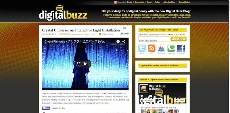 Digital Buzz Blog Digital Campaigns  Online Marketing  Social   More.