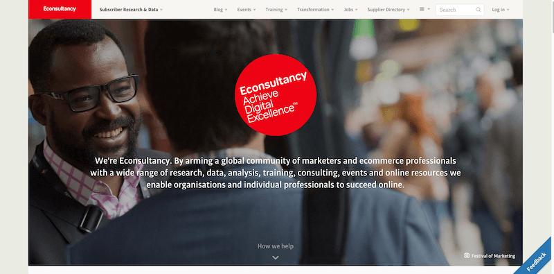 Econsultancy   Achieve Digital Excellence
