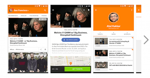 Eventbrite   Fun Local Events   Android Apps on Google Play