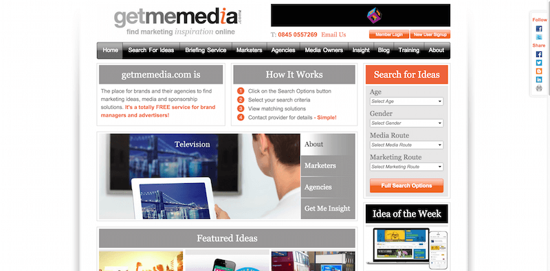 Latest Media Insights and Marketing opportunities   Getmemedia.com