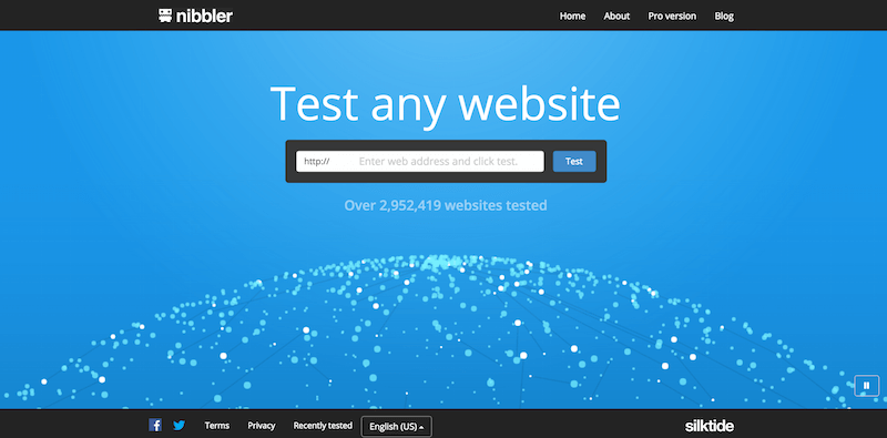 Nibbler   Test any website
