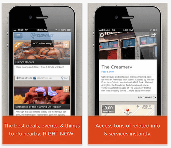 Tagwhat   Best Places Nearby  Find Deals  Events  Specials  Things to Do Around Me Right Now on the App Store on iTunes