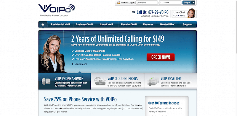 VoIP Services by VOIPO