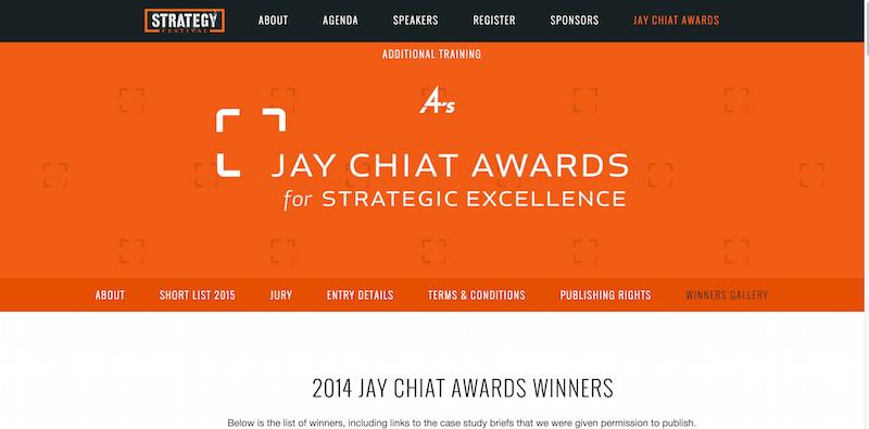 Winners Gallery — 4A s Strategy Festival 2015