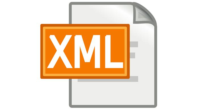 XML is not mandatory