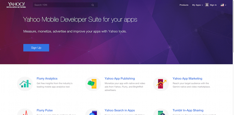 Yahoo Developer Network