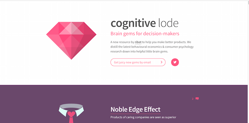 cognitive lode by ribot – Simple advice on product psychology