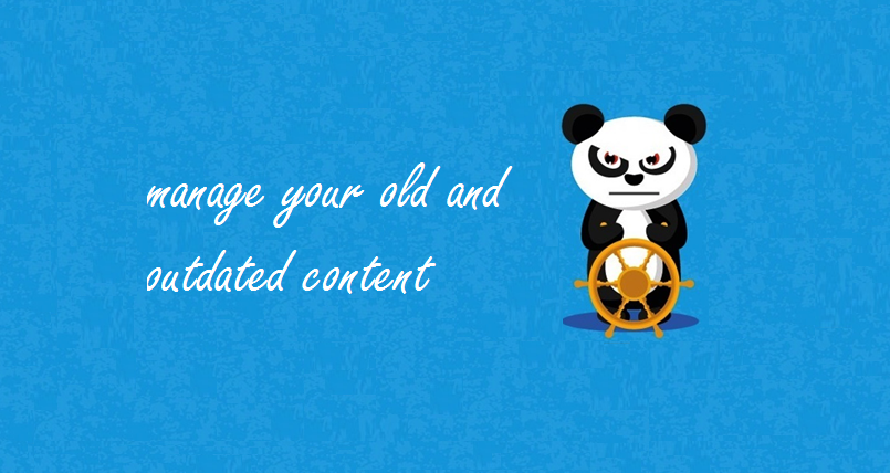 outdated content - big
