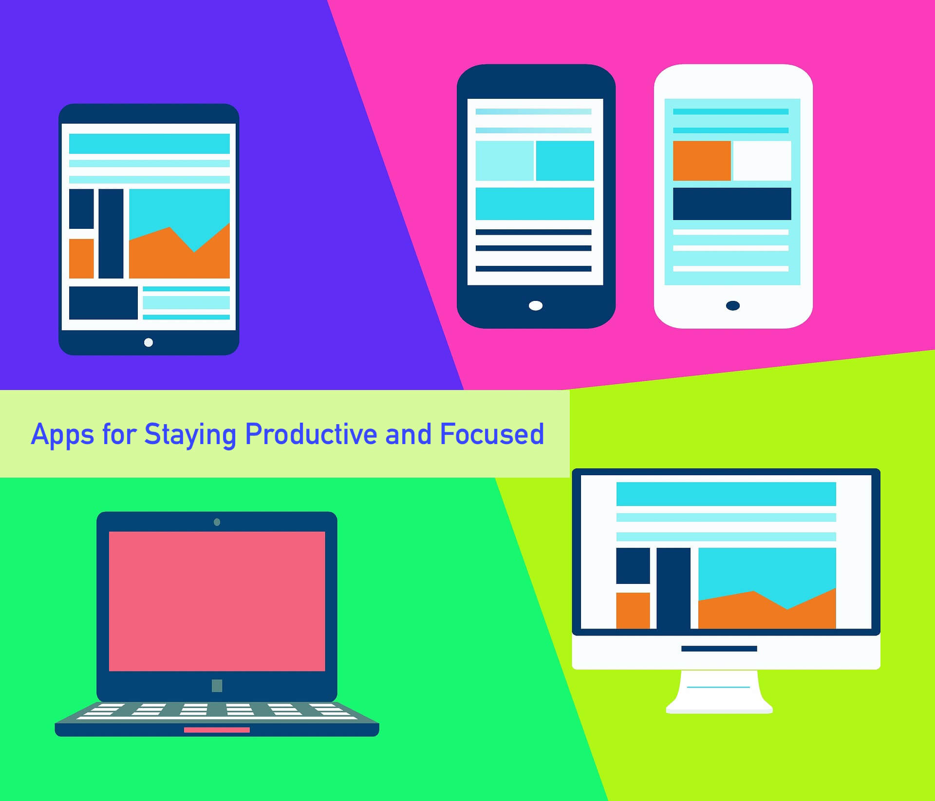 Apps for Staying Productive and Focused