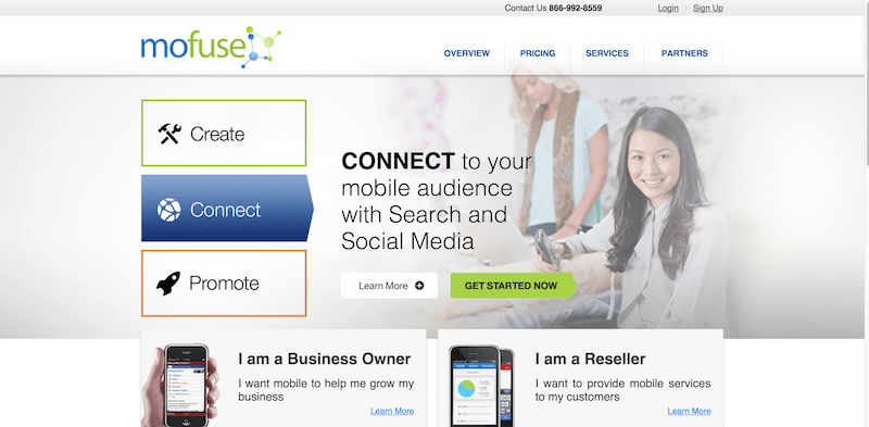 Create Mobile Version of Websites Mobile Website Builder Make Mobile Web Pages MoFuse