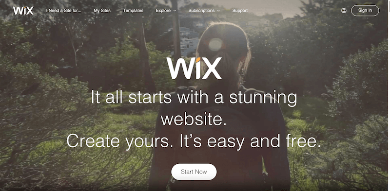 Free Website Builder   Create a Free Website   WIX.com