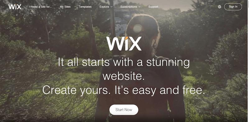 Free Website Builder   Create a Free Website   WIX.com