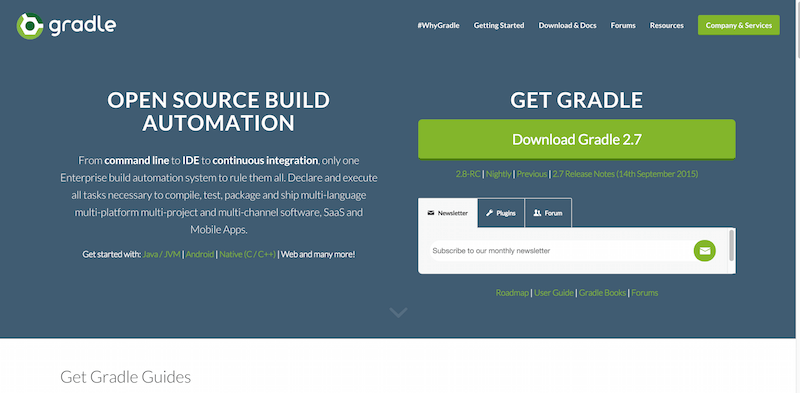 Gradle l Endgame Open Source Enterprise Build Automation