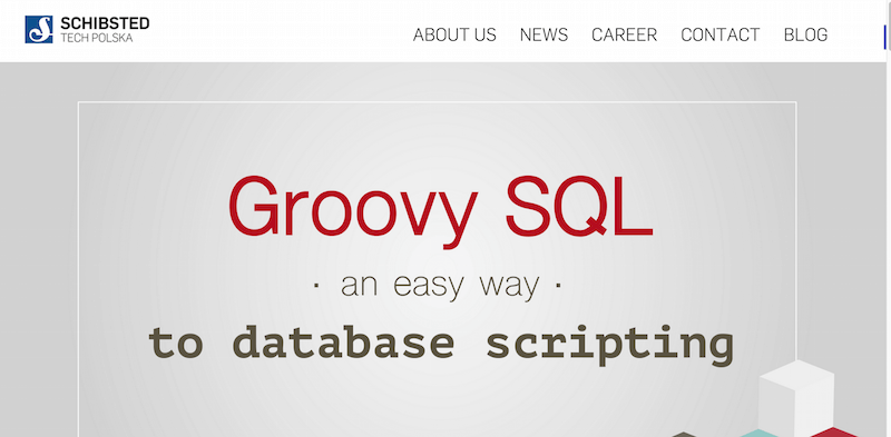 Groovy SQL   an easy way to database scripting