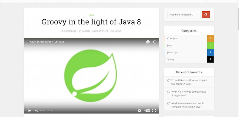 Groovy in the light of Java 8   JavaGuru