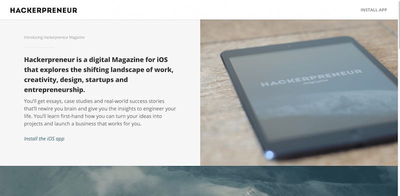 Hackerpreneur Magazine