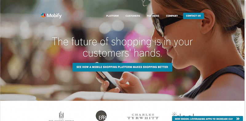 Mobify  Mobile Shopping Platform