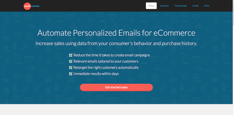 PushMarket » Automate Email Marketing for eCommerce