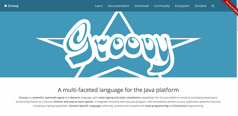 The Groovy programming language