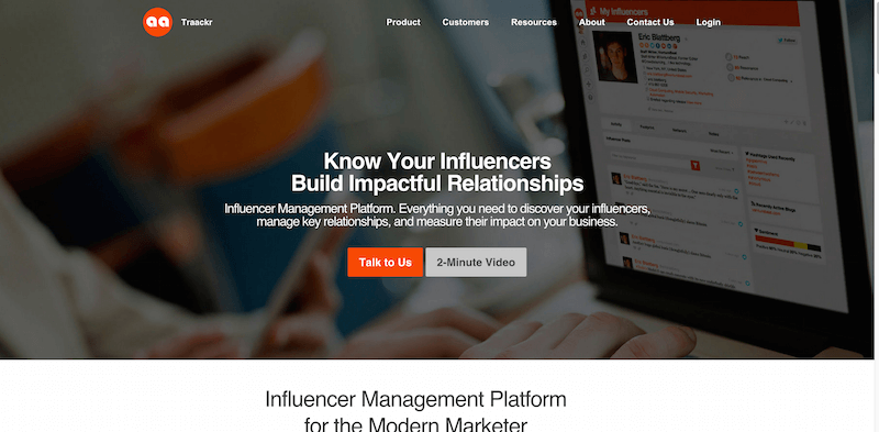 Traackr Influencer Marketing Platform for the Social Enterprise
