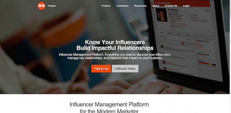 Traackr Influencer Marketing Platform for the Social Enterprise