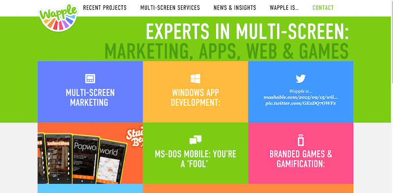 Wapple   Experts in Multi Screen  Marketing  Apps  Web   Games