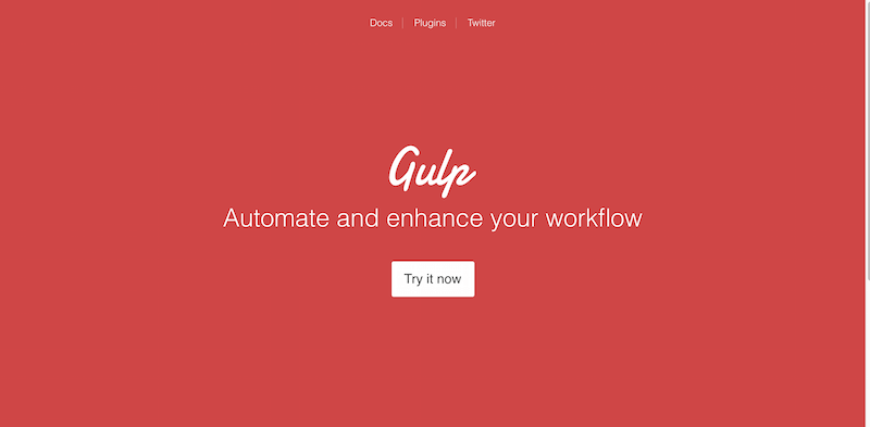 gulp.js   the streaming build system