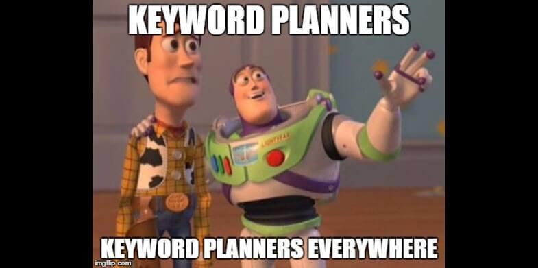 keyword planners