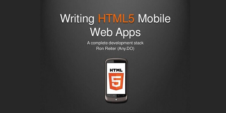 writing html template