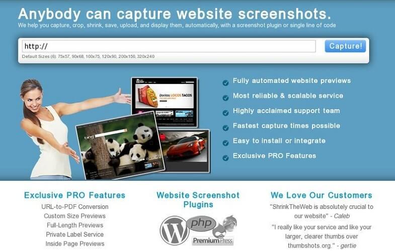 3. Shrinktheweb.com