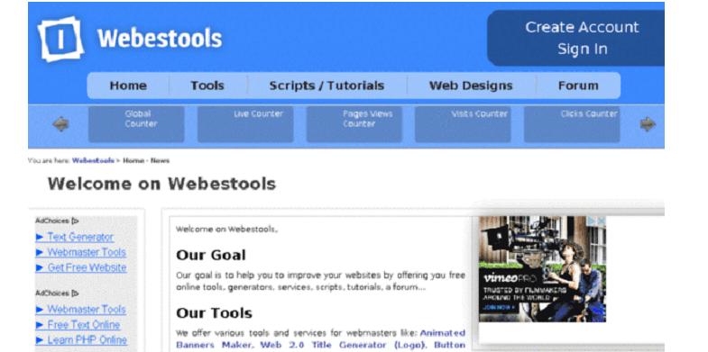 webstools