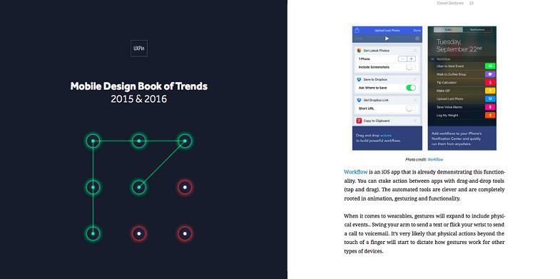 Mobile Design Book of Trends 2015 & 2016