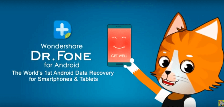 Review of a powerful android data recovery utility Dr. Fone for android - small