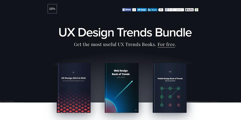 The Definitive 2016 UX Design Trends Bundle