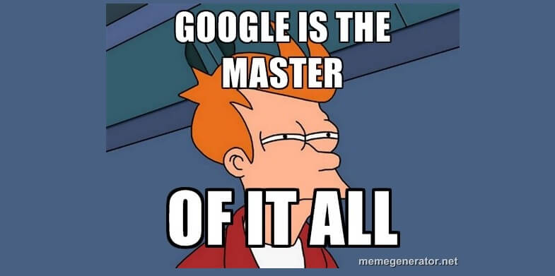 google is master