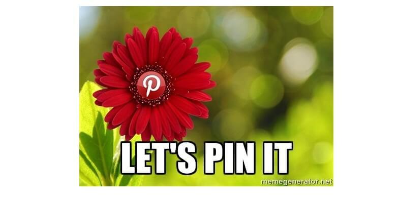lets pin it