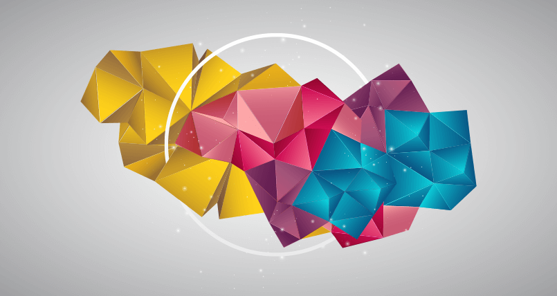 12 Free Geometric Background Sets For Graphic Designers