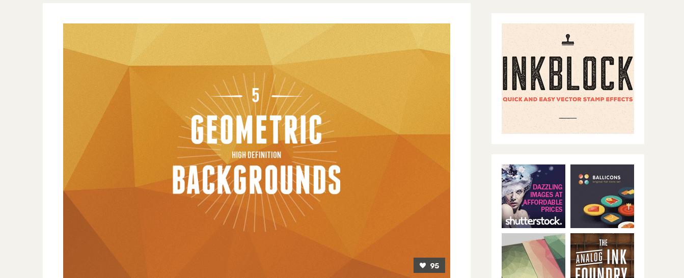 5 geometric high