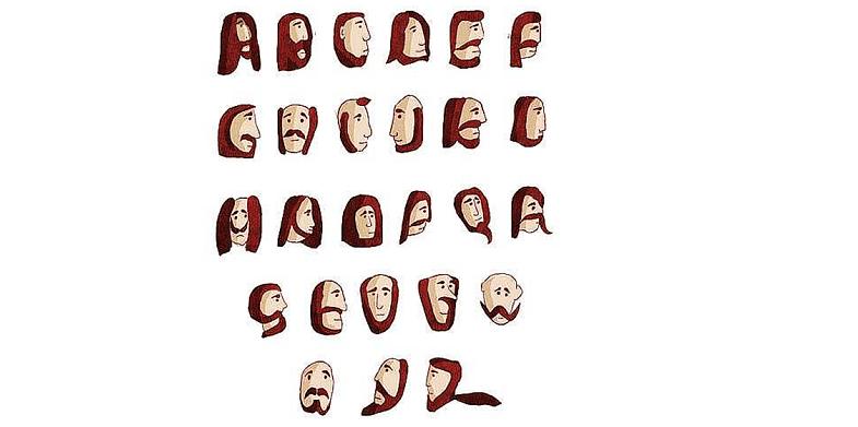 The Beard Font