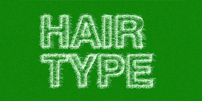 The Hair Type Font