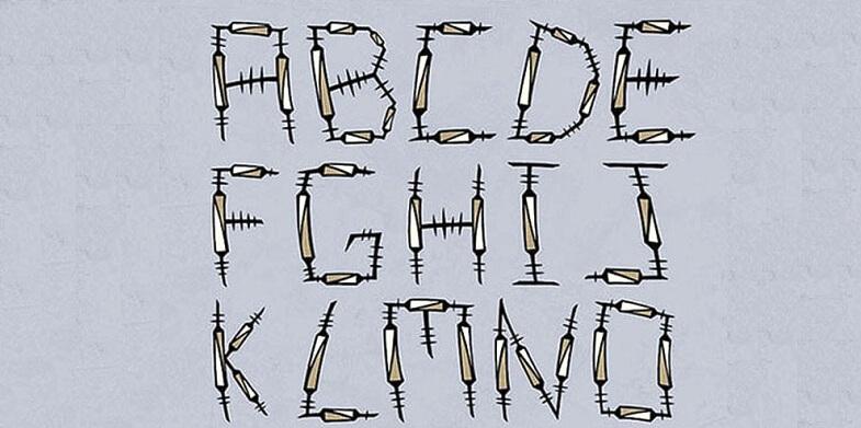 The Syringe Font