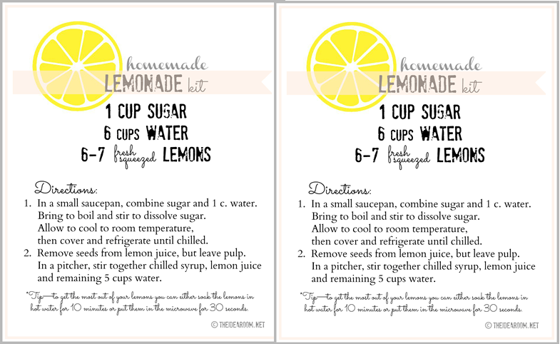 home lemonade