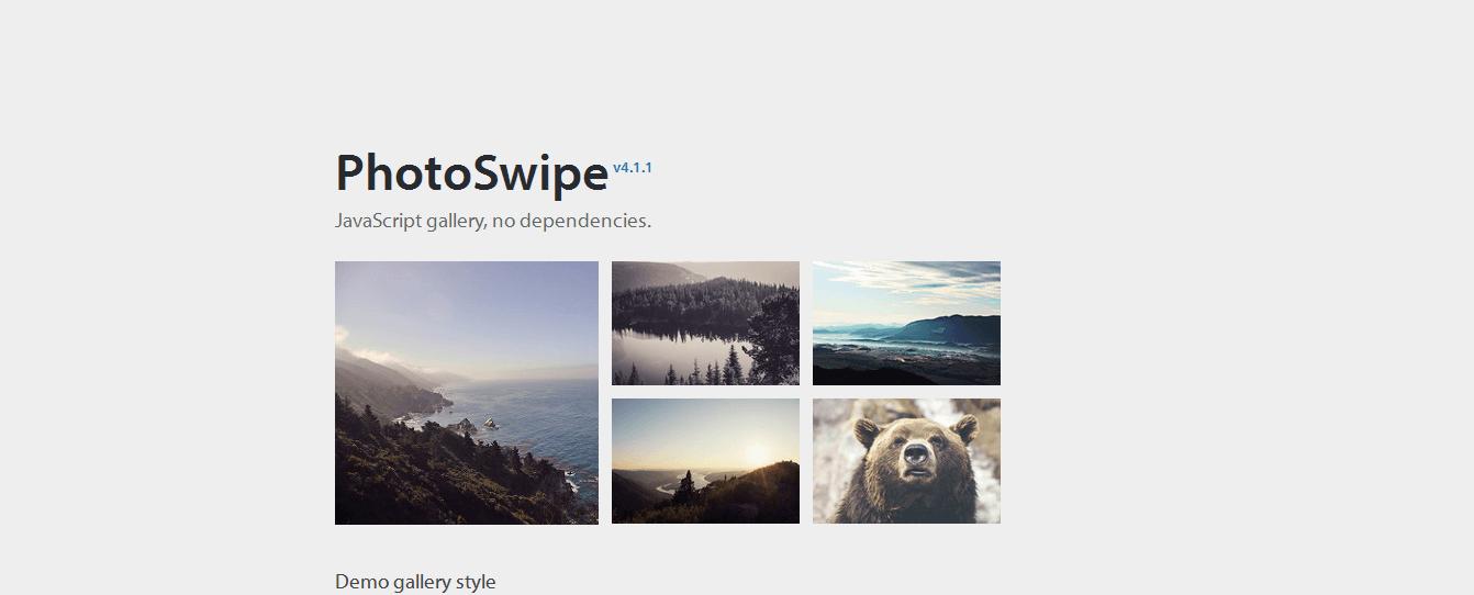 photoswipe