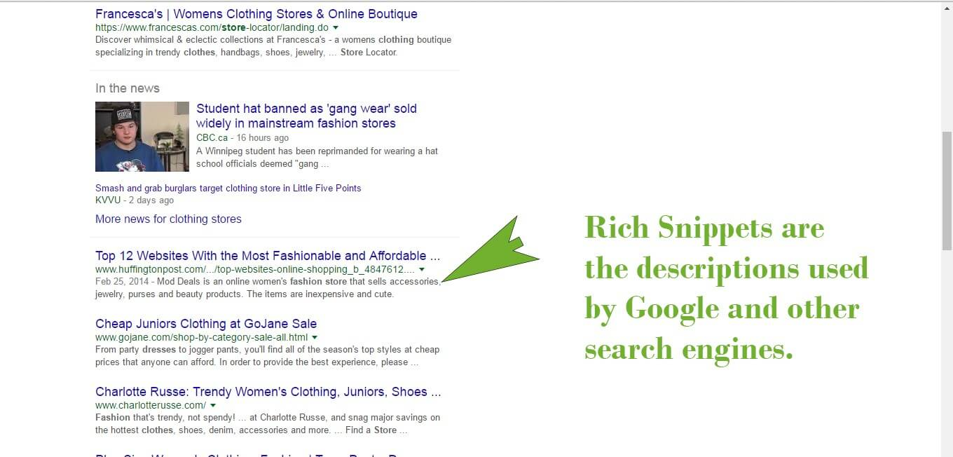 Add Rich Snippets