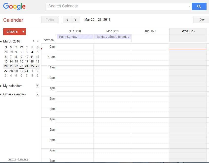 Update Your Calendar