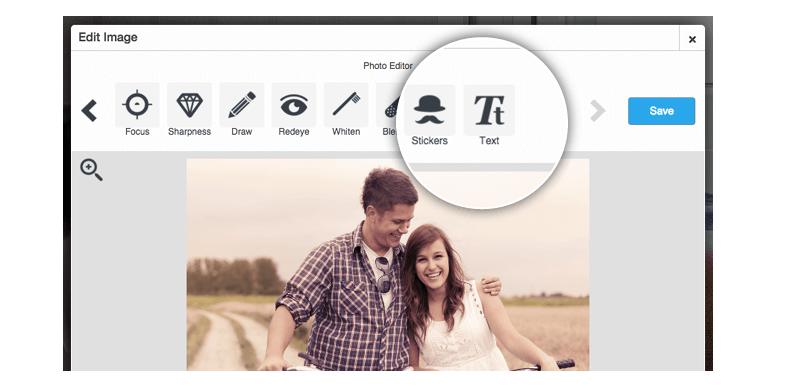 Use of Wix Image Editor